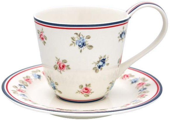 Greengate Hailey kopp med skål