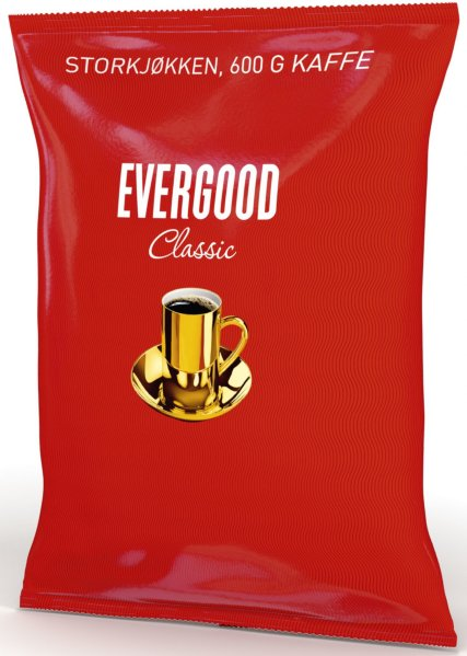 Evergood Classic grovmalt 600g 10 poser