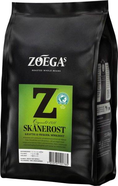 Zoegas Skånerost kaffebønner