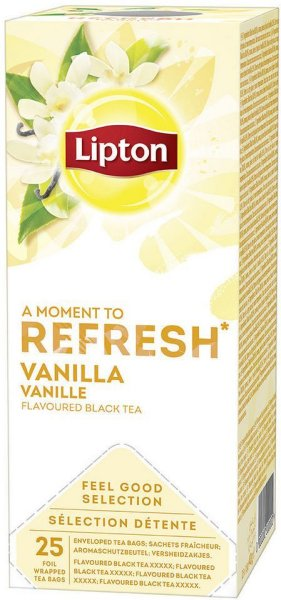 Lipton Vanilla 25 stk