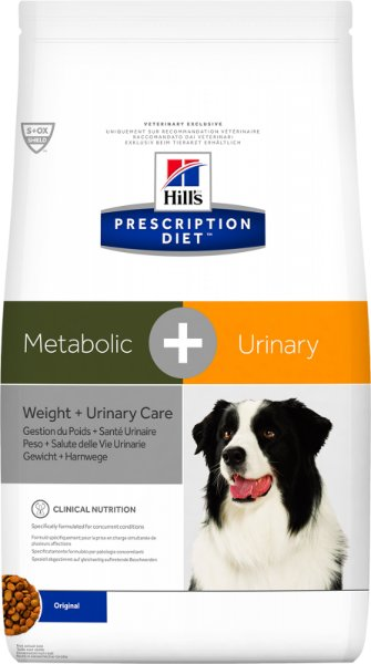 Hill's Prescription Diet Canine Metabolic & Urinary, 12 kg