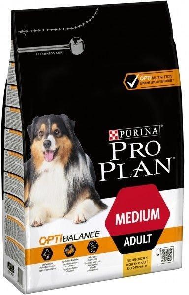 Purina Pro Plan Medium Adult Optibalance, 14 kg