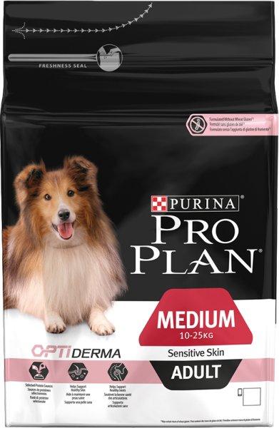 Purina Pro Plan Medium Adult Sensitive Skin Optiderma 14 kg