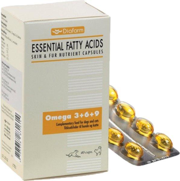 Diafarm Omega 3+6+9, 40 stk