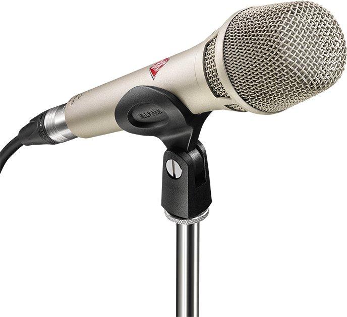 Neumann KMS 105 Vokal Kondensatormikrofon Nikkel Voss Musikk