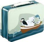 Blafre Tin Suitcase Matboks