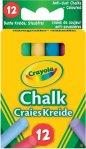 Crayola Coloured Chalk (12 stk)
