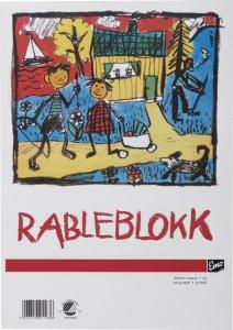 Rableblokk A3 (50 blad)