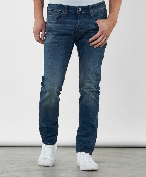 G-Star 3301 Tapered Fit Jeans (Herre)