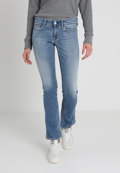 Replay Luz Bootcut Jeans (Dame)