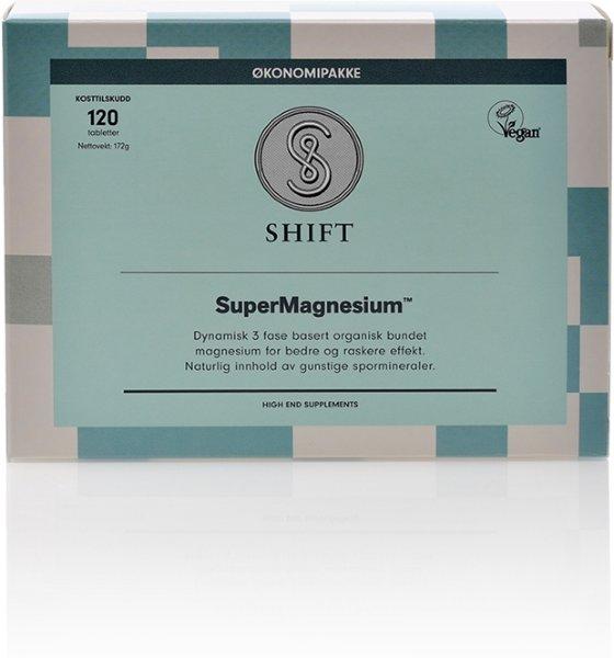 Shift SuperMagnesium 120 tabletter
