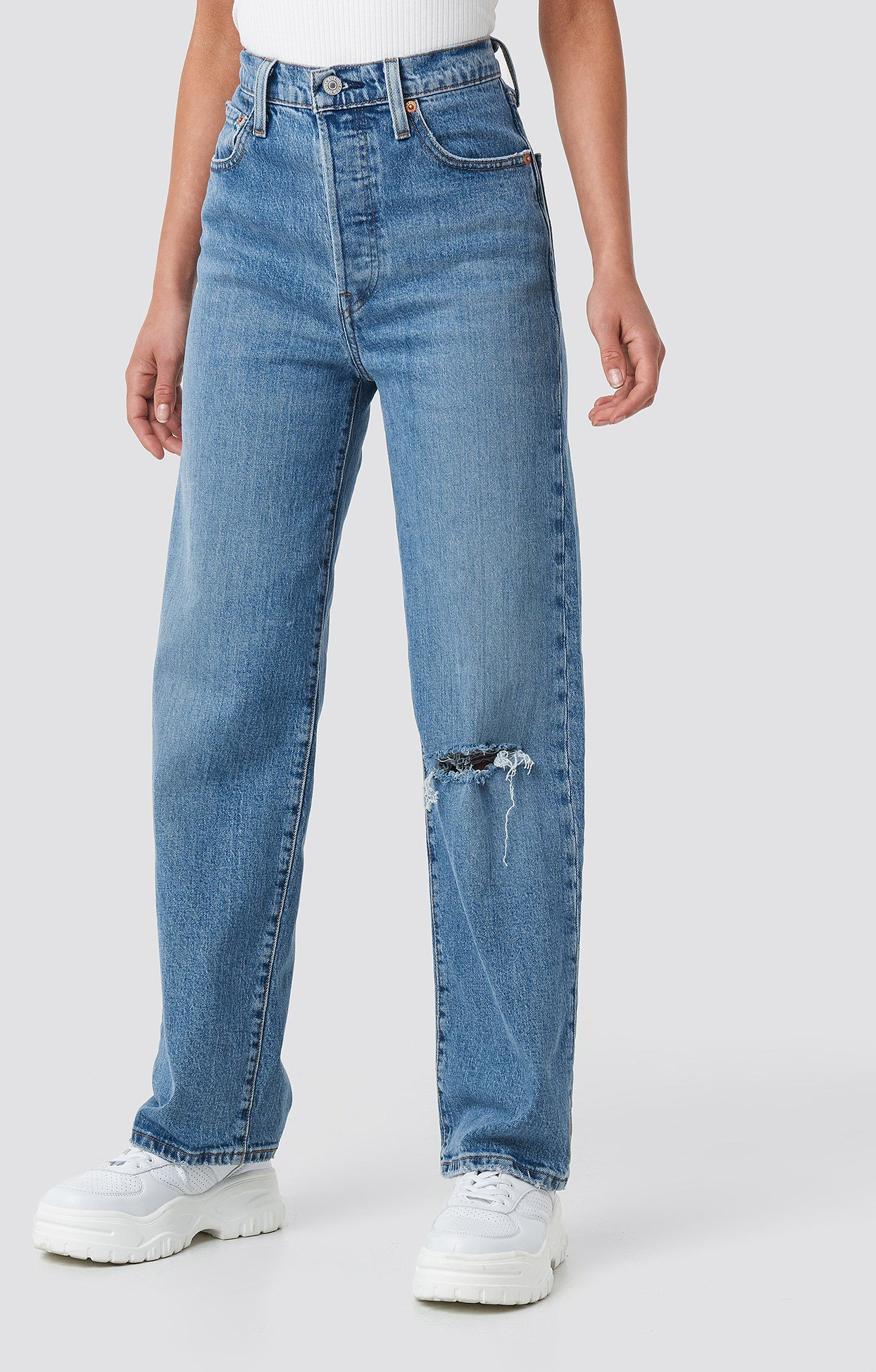 Levi's Ribcage Jeans (Dame)