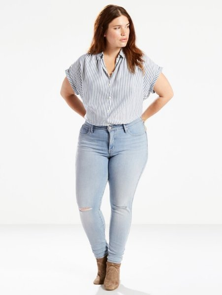 Levi's 310 Shaping Plus Jeans (Dame)