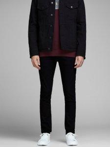Black Denim Slim fit jeans Glenn Felix AM 046  Jack & Jones  Slim-fit jeans