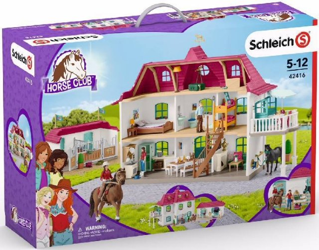 Schleich 42416 Hestegård med stall