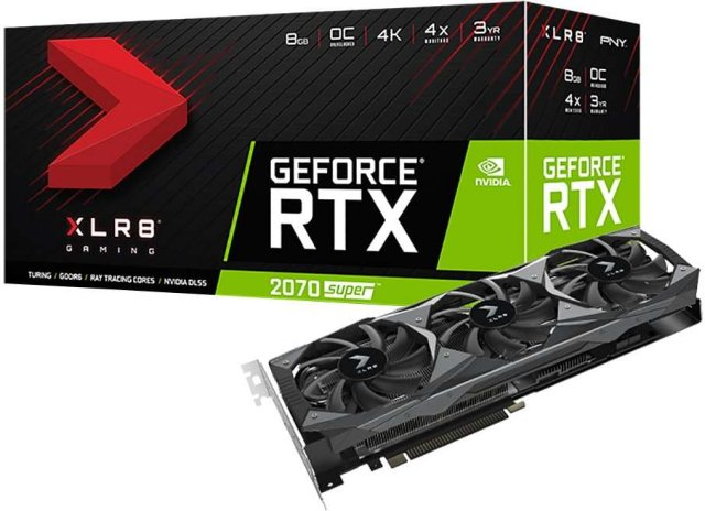 PNY GeForce RTX 2070 Super XLR8 OC