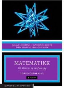 Matematikk for økonomi og samfunnsfag