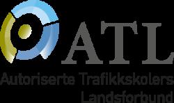 Autoriserte Trafikkskolers Landsforbund logo