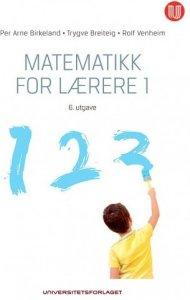 Matematikk for lærere 1