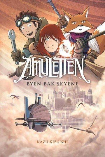 Fontini Forlag Amuletten 3: Byen bak skyene