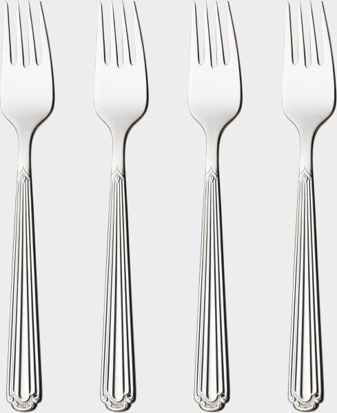 Hardanger Bestikk Renessanse gaffel 4 stk