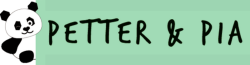 Petter&Pia logo