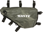 White Traveler Frame Bag