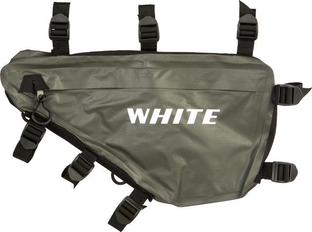 White Traveler Frame Bag