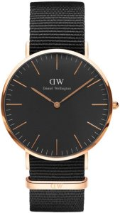 Daniel Wellington Classic Black Men Cornwall (Herre)
