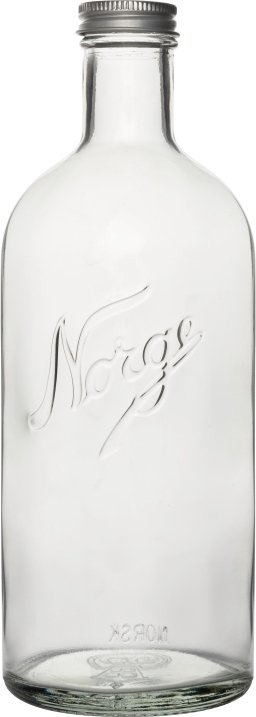 Hadeland Glassverk Norgesglasset Norgesflasken 0,75L