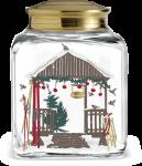 Holmegaard Christmas Julekakeglass 2019