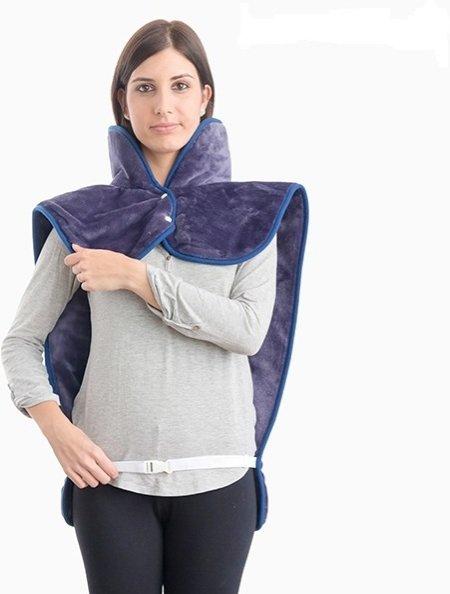 Innovagoods Elektrisk varmeteppe  nakke, skuldre og rygg