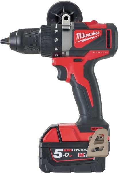 Milwaukee M18 BLDD2-502X (2x5,0Ah)