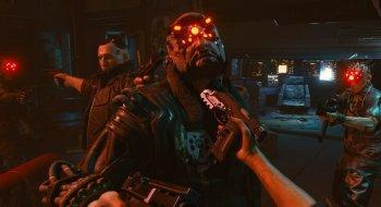 Til og med filmsekvensene til Cyberpunk 2077 foregår i førstepersons synsvinkel