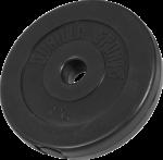 Gorilla Sports Vinyl Vektskive 5 kg