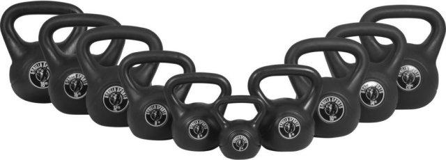 Gorilla Sports Kettlebells i Hardplast 3 kg