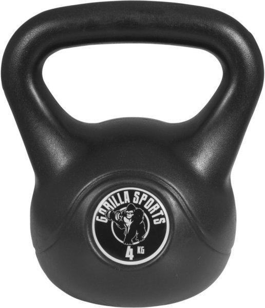 Gorilla Sports Kettlebells i Hardplast 5 kg