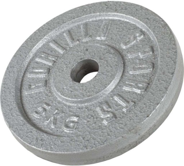 Gorilla Sports Cast Iron Vektskive 5kg