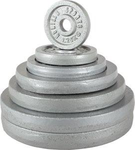 Gorilla Sports Cast Iron Vektskive 0,5kg