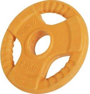Gorilla Sports Olympic Rubber Bumper Vektskive 2,5 kg