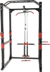 Gorilla Sports Powerlifting Station Rack inkl. Nedtrekk