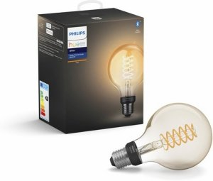 Philips Hue Buratto LED spot hvit 1 l lysk. dimmer