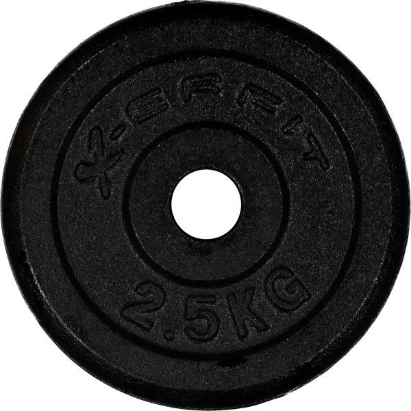 X-erfit Vektskive 2,5 kg