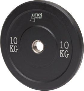 Titan Fitness Bumper Plate 10 kg