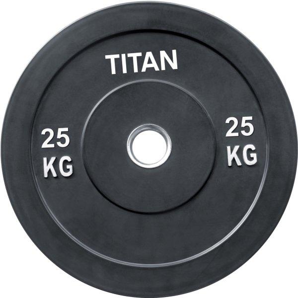 Titan Fitness Bumper Plate 25 kg