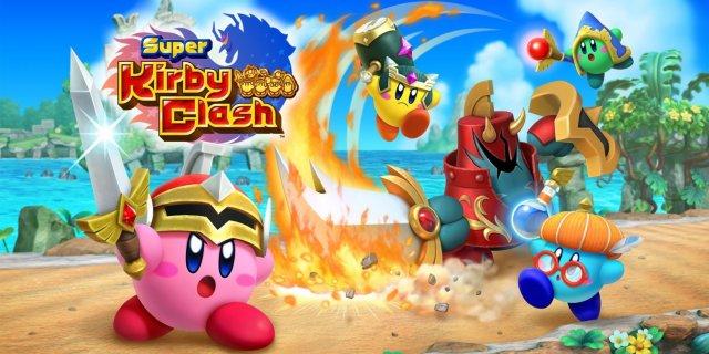 Super Kirby Clash til Switch