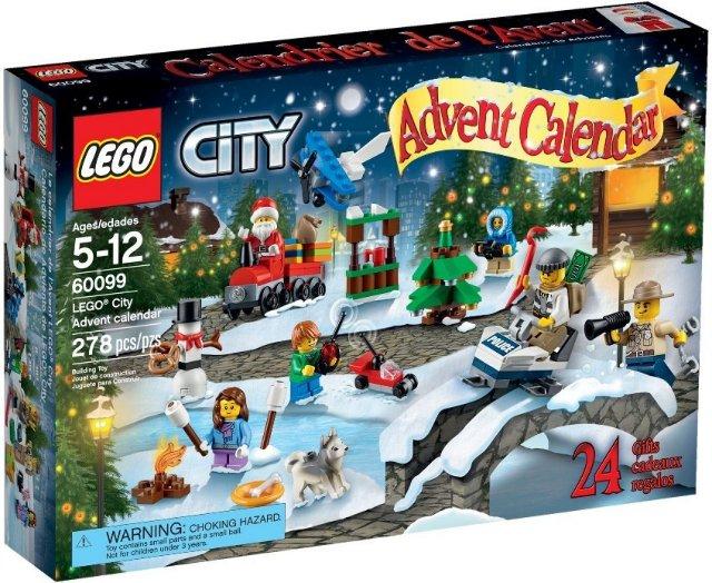 LEGO City 60099 adventskalender
