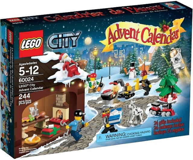 LEGO City 60024 adventskalender