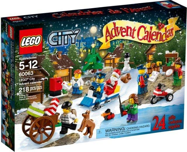 LEGO City 60063 adventskalender