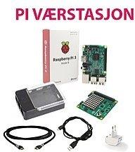 Raspberry Pi 3 Værstasjon